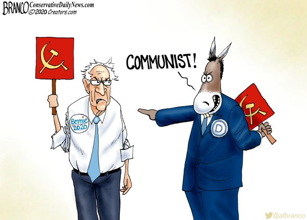 Photo of Berned-Out –  A.F. Branco Cartoon