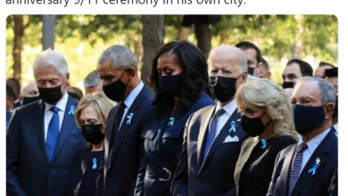 Photo of Mainstream Media Criticizes Trump for Not  Attending 9/11 Ceremony – And Fails